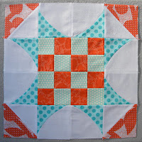 """Curve it up"" QAL ~ Block #2 ~ Sawtooth Star"