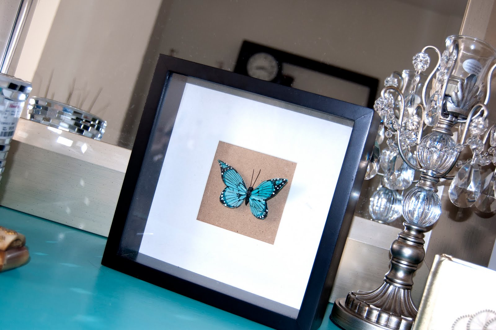 DIY Butterfly Decor For Your Bedroom Or Vanity!
