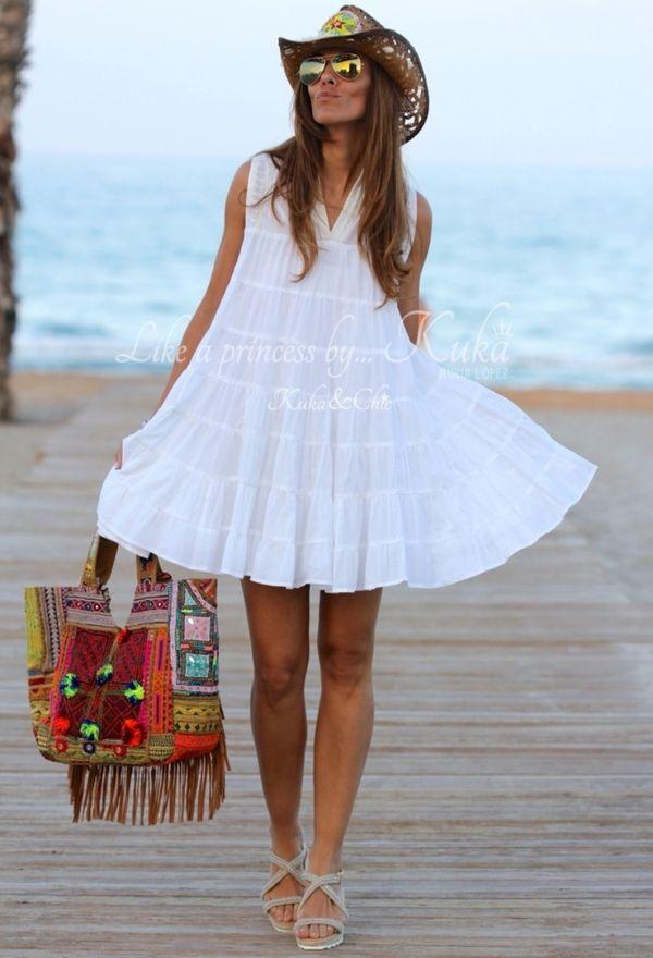 Vestidos de playa para las vacaciones