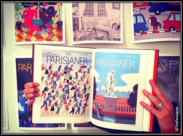 expo le Parisianer 100 artistes illustrations Hoetl de Ville Paris