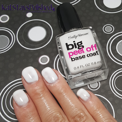 Sally Hansen Big Peel Off Base Coat | Kat Stays Polished