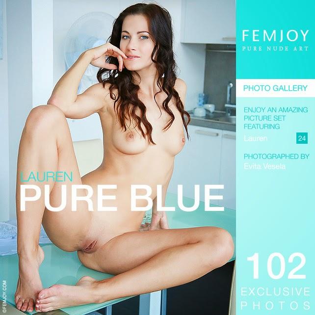 Femjoy 2015-01-06 Lauren - Pure Blue 12070