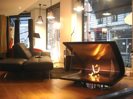 eco smart zeta portable fireplace designs photos
