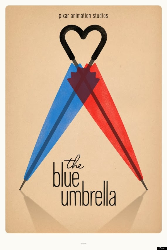 Blue Umbrella Opening Clip - Monsters University Short ...