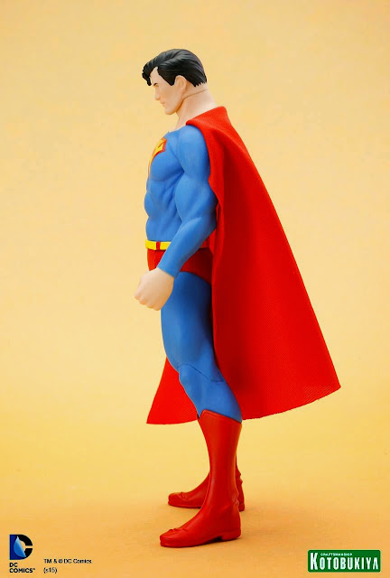 NECA Christopher Reeve Superman & Kotobukiya DC Universe Super Powers Superman ARTFX+ Statue