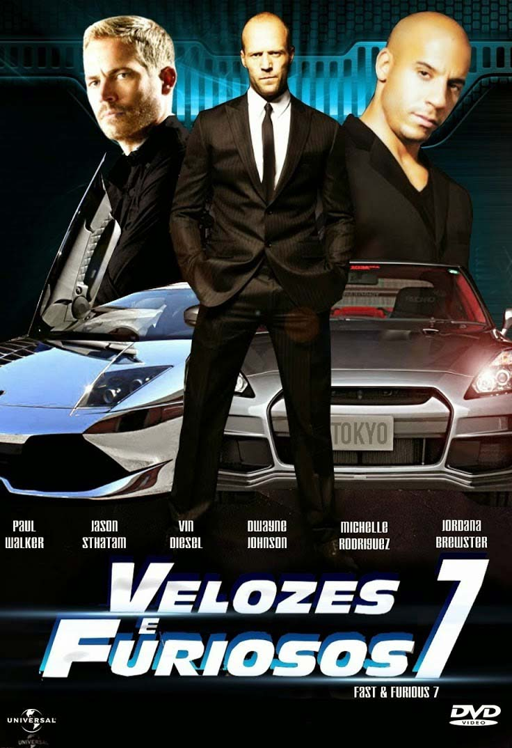 Velozes e Furiosos 7 Torrent – BluRay 720p e 1080p Dublado