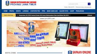 Pendaftaran CPNS Jawa Timur 2015