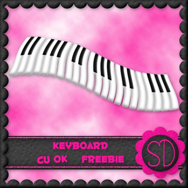 FREEBIE Music Piano KEYBOARD SD_CU+Keyboard+Preview