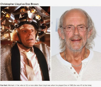 The cast of back to the future then and now cool things shared on