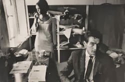 John Bates in his London studio. A guide to 1960s vintage wedding dresses, c HVB vintage wedding blog 2013