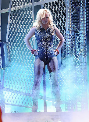 Britney Spears In Fishnets