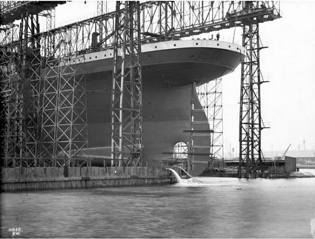 Grandes estructuras históricas en construcción Fotograf%25C3%25ADas+de+la+construcci%25C3%25B3n+del+Titanic+11