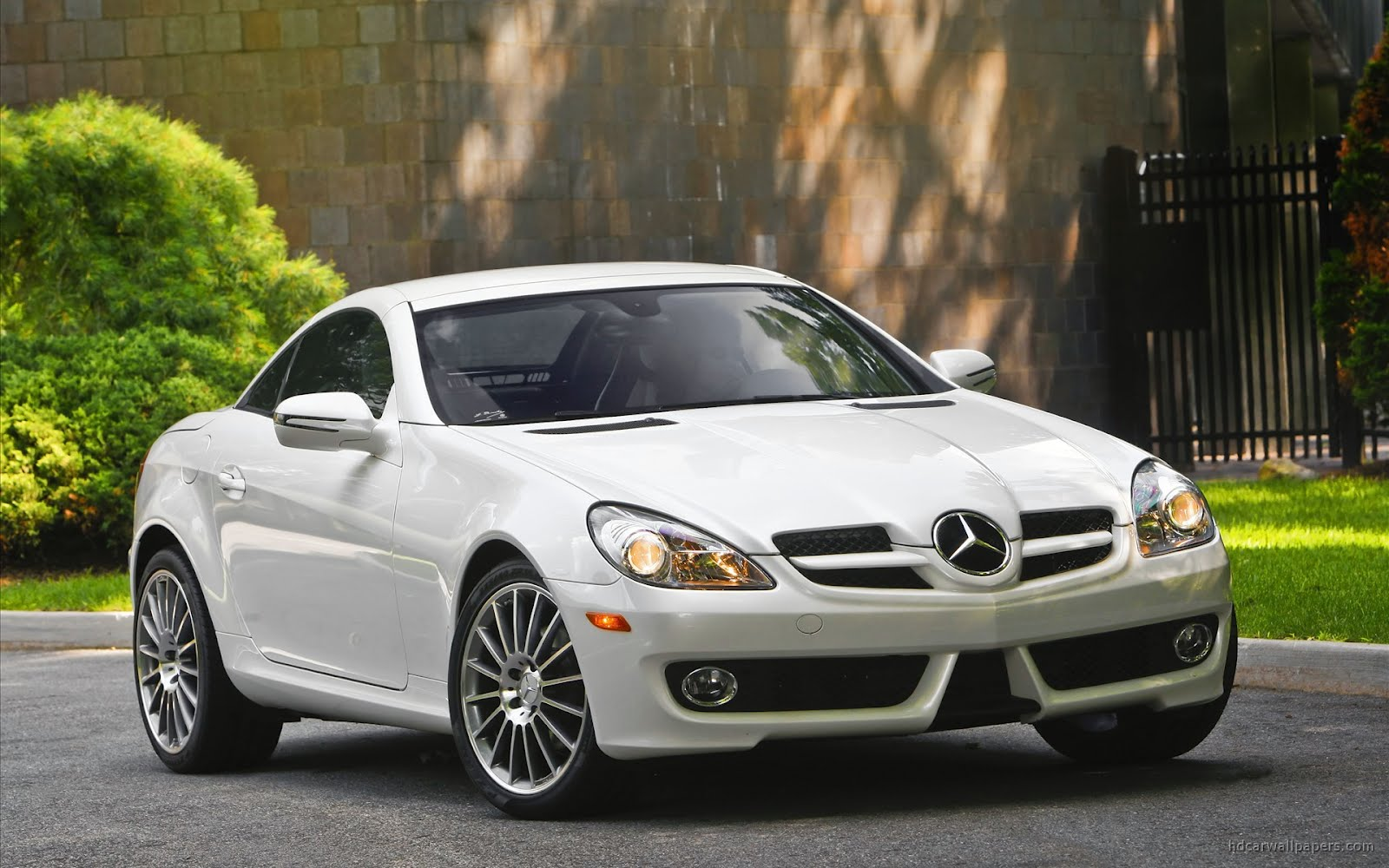 White Mercedes Benz Car Hd Wallpapers In Blog