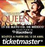DIOS SALVE A LA REINA AUDITORIO BLACKBERRY 19 MAYO