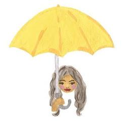 hai saya gadis payung kuning