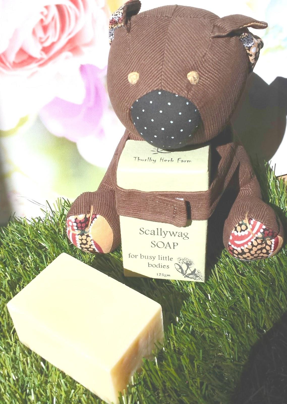 NEW Thurlby Red Bush Baby  Koala Handmade Soap