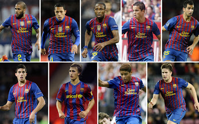 FC BARCELONA TRANSFER LIST