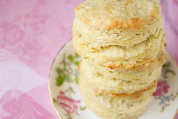 Fat, Flaky Buttermilk Biscuits.