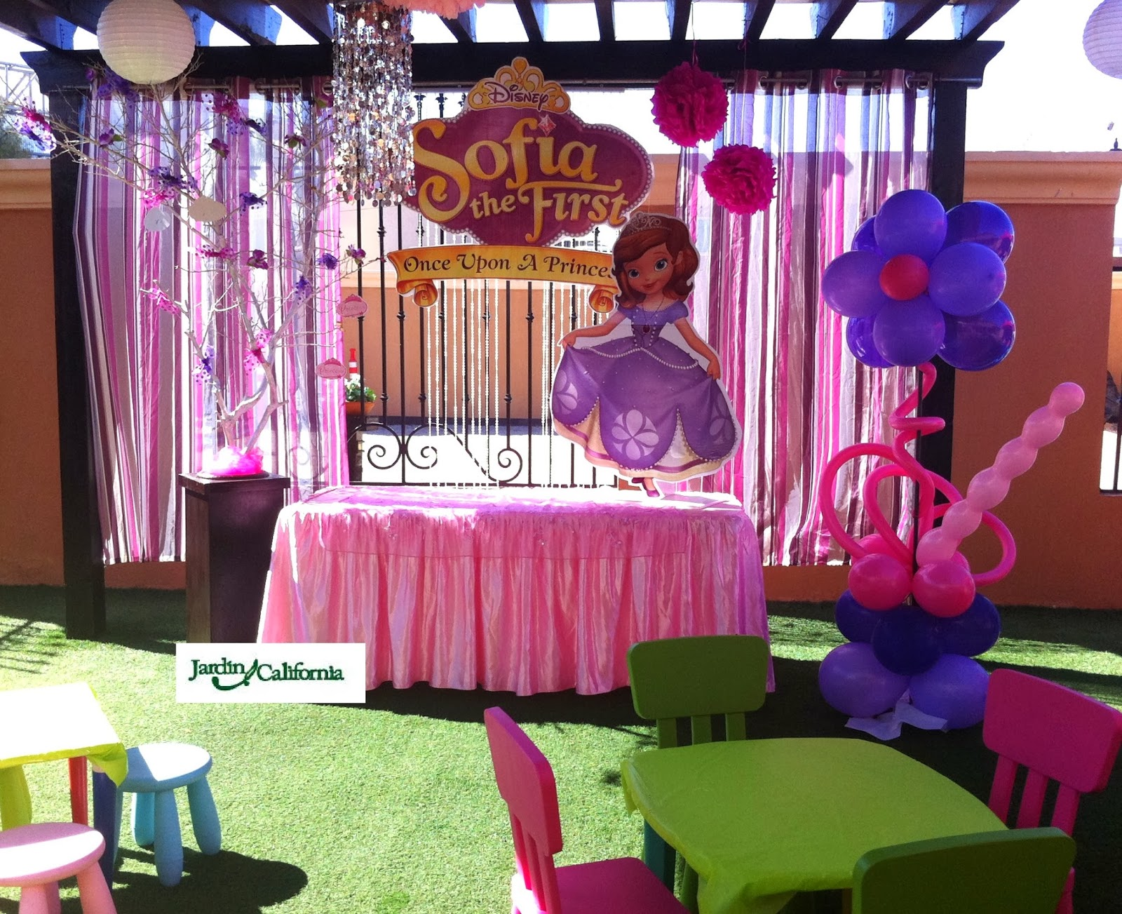 Decoraciónes para fiestas infantiles de princesa safia - Imagui