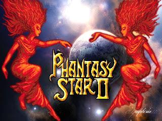 Phantasy Star 2 II title pic