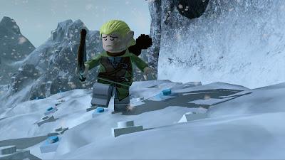 Sigue el camino de ladrillos LEGO