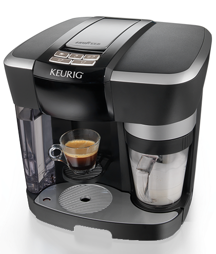 Keurig Coffee Maker Not Filling Cup All The Way : Keurig Rivo: Cappuccino and Latte System {Review} - Opera Singer in the Kitchen