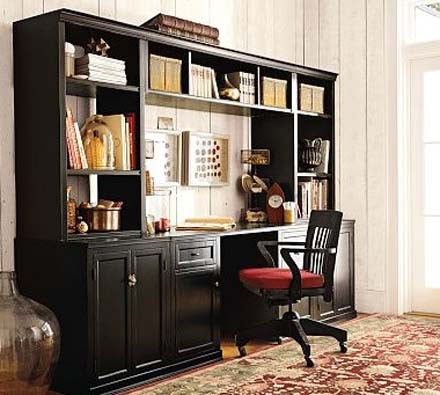 home office desk: logan office suite