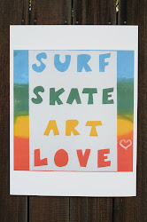 Surf Skate Poster
