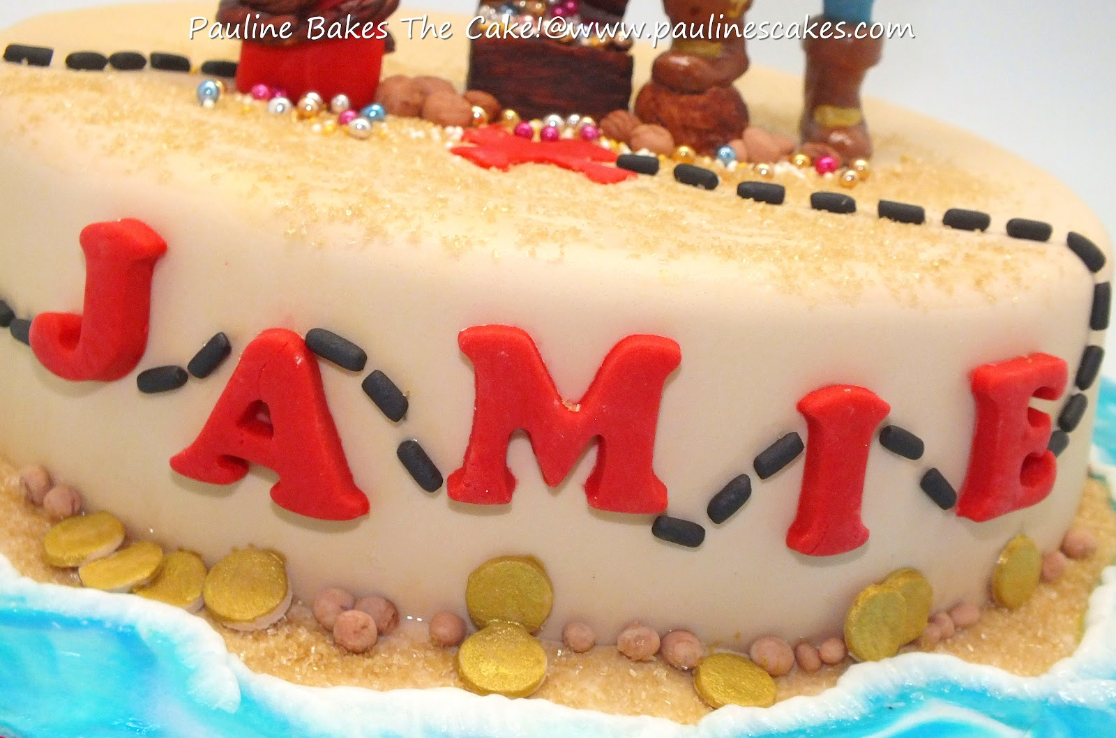 Pauline Bakes The Cake Jamie S Quot Jake The Pirate