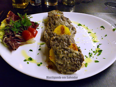 Restaurante Montello Gourmet: Filé Mignon com Creme de Trufas e Batatas ao Açafrão