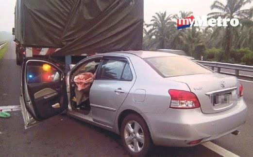 Tangisan halus Dalam Kereta Malang, info, terkini, berita, sensasi, nahas jalan raya, kemalangan