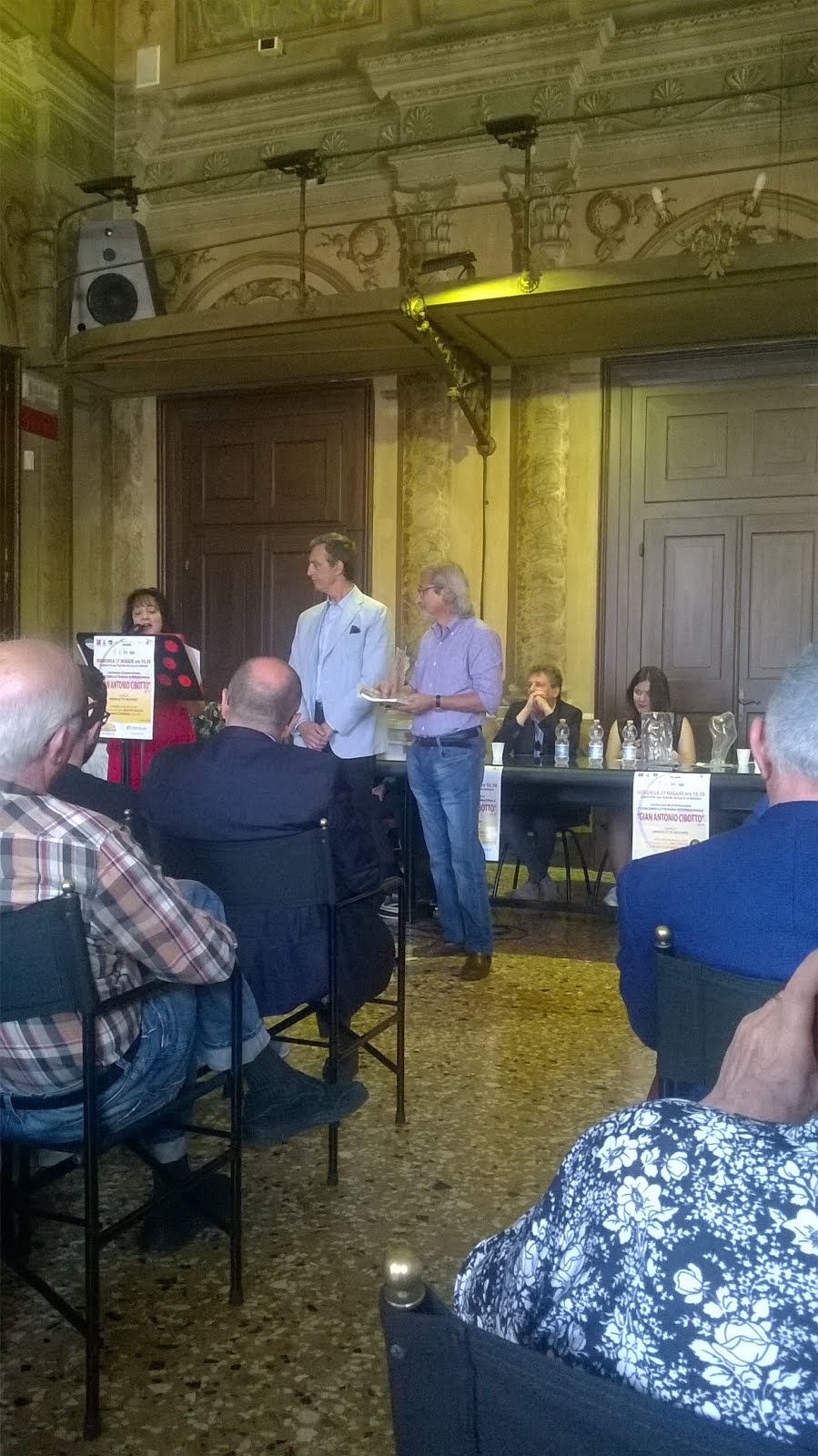 Premiazione Premio Internazionale G.A.Cibotto