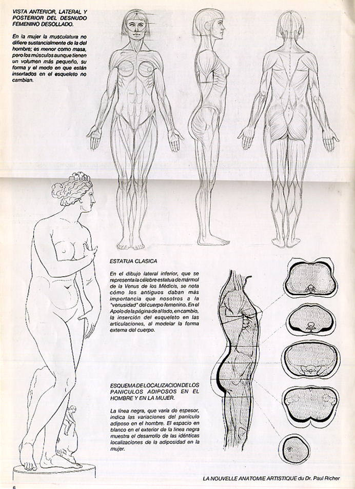 Figura femenina patinaje desnudo
