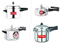 Pressure Cookers Extra upto 51% Cashback – PayTm
