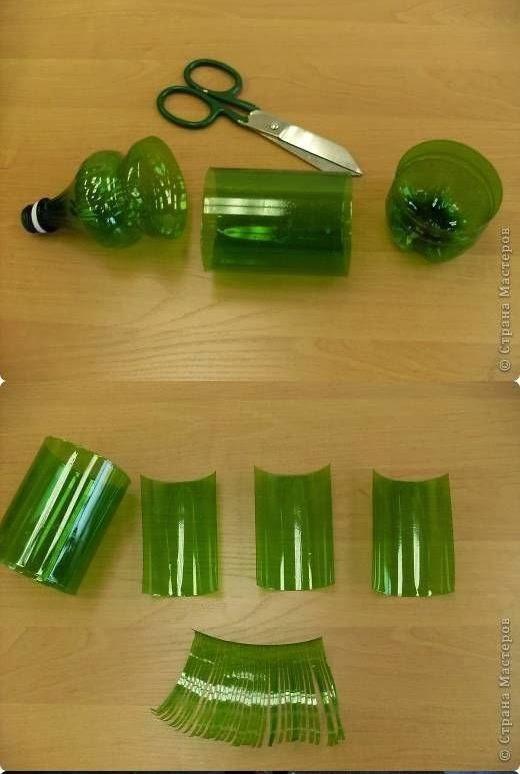 Bien connu Initiales GG  : DIY : un sapin en plastique recyclé ! KW94