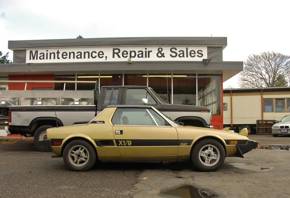 1981 Fiat X1/9 Targa.