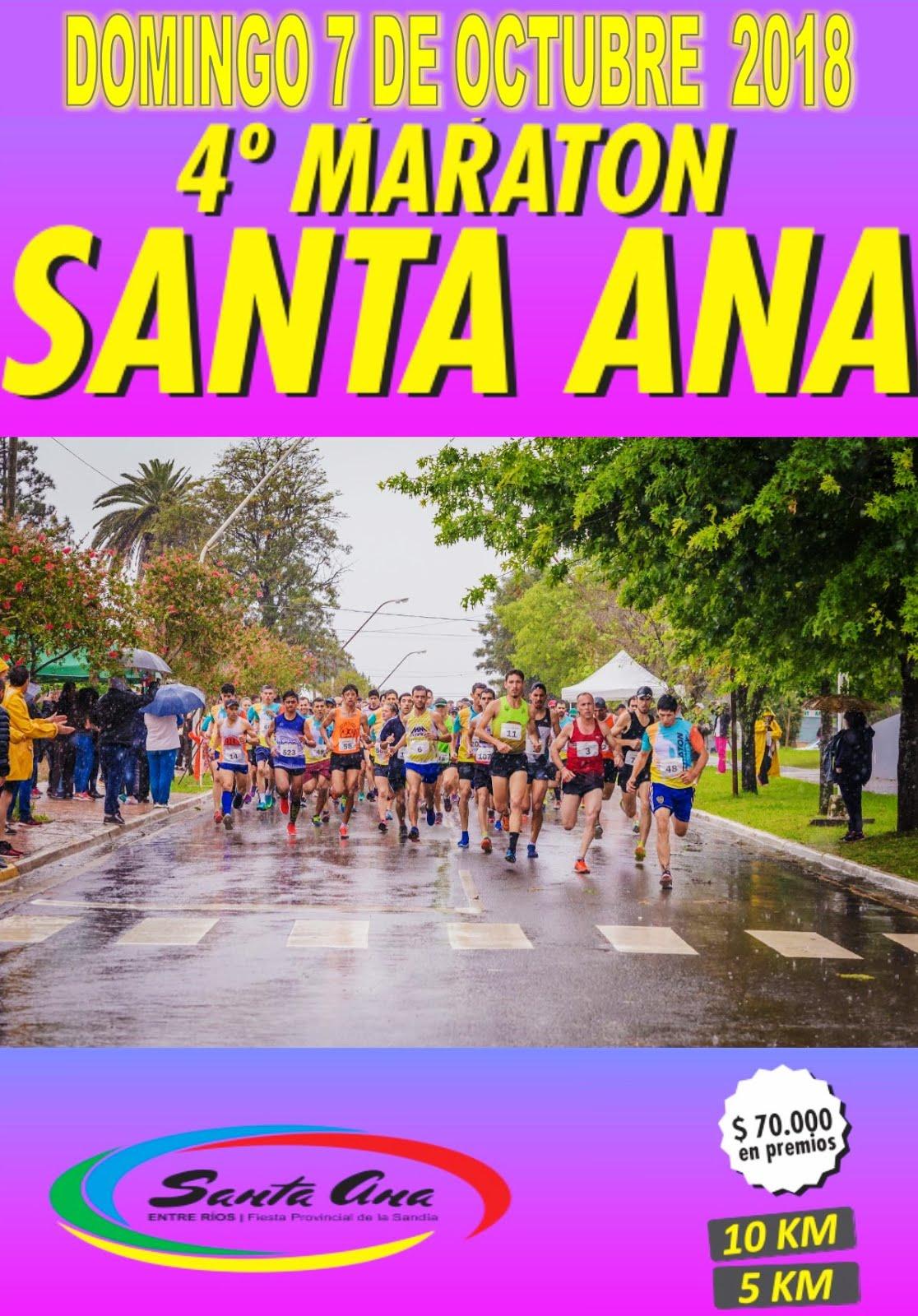 4º Maraton Ciudad de Santa Ana2018