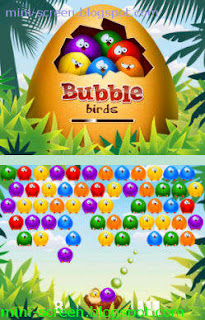 Free Bubble Birds Game App for Blackberry