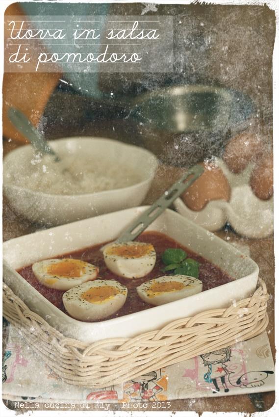 uova in salsa di pomodoro