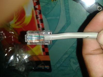 Cara Membuat Kabel Rj45