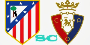 Prediksi Pertandingan Atletico Madrid vs Osasuna 25 September 2013