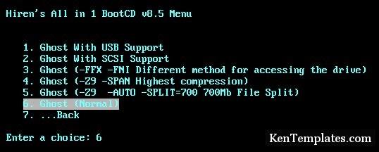 Hướng dẫn cách tạo file Ghost, bung file Ghost