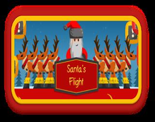 http://www.akidsheart.com/holidays/christms/cflight/santaflight.html