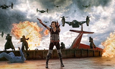 Milla Jovovich Michelle Rodriguez Sienna Guillory Resident Evil