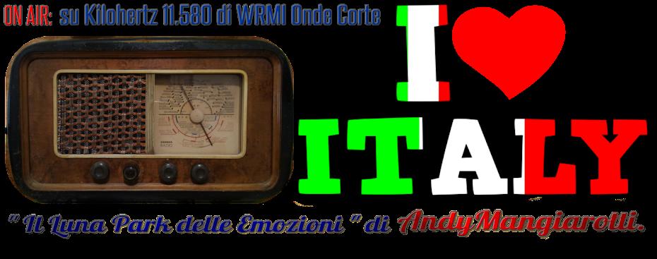 """I LOVE ITALY """" il Luna Park delle Emozioni """" di Andy Mangiarotti."""