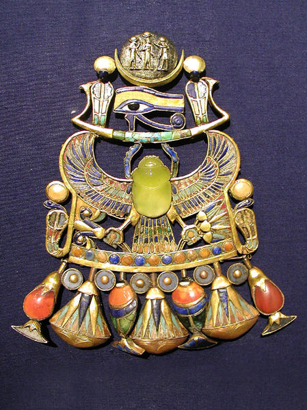 Egyptian pendant (public domain)