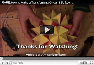 Оригами - Магический шар