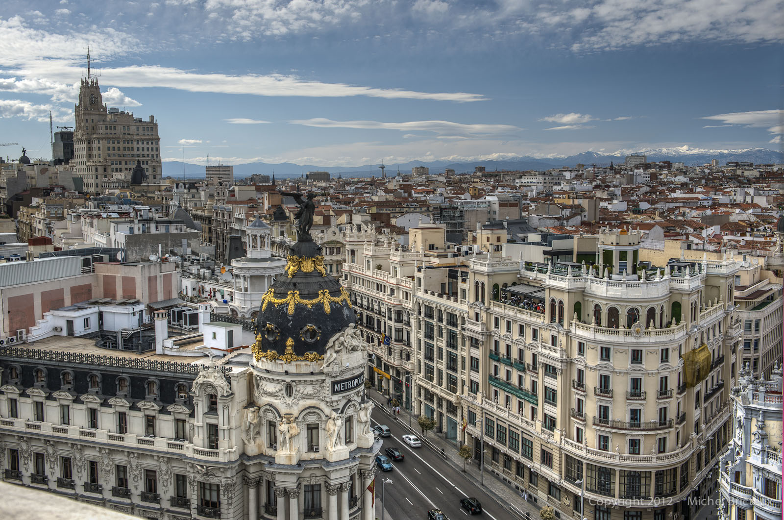 MADRID SKYLINE : Gran Vía