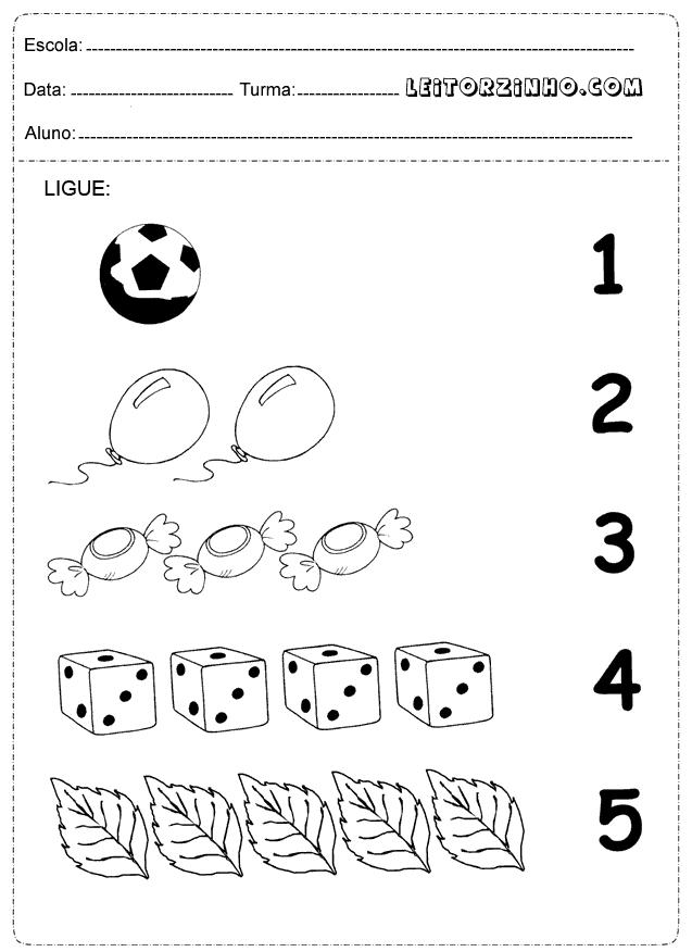 Fabuloso Leitores: Atividades de matemática para crianças (Alfabetização) SL04