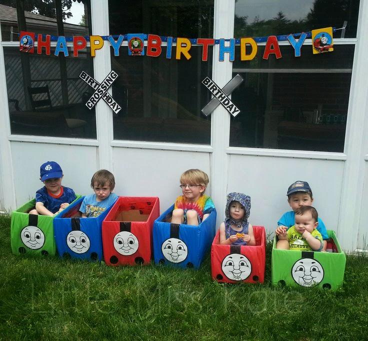 Decoración de Fiesta Thomas el Tren - Thomas y sus Amigos